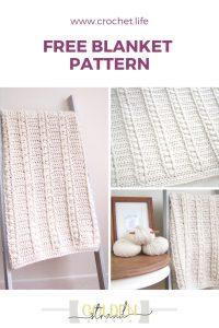 Crochet Free Blanket Pattern Baby