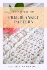 Sweet Haven Crochet Blanket Pattern Closeup