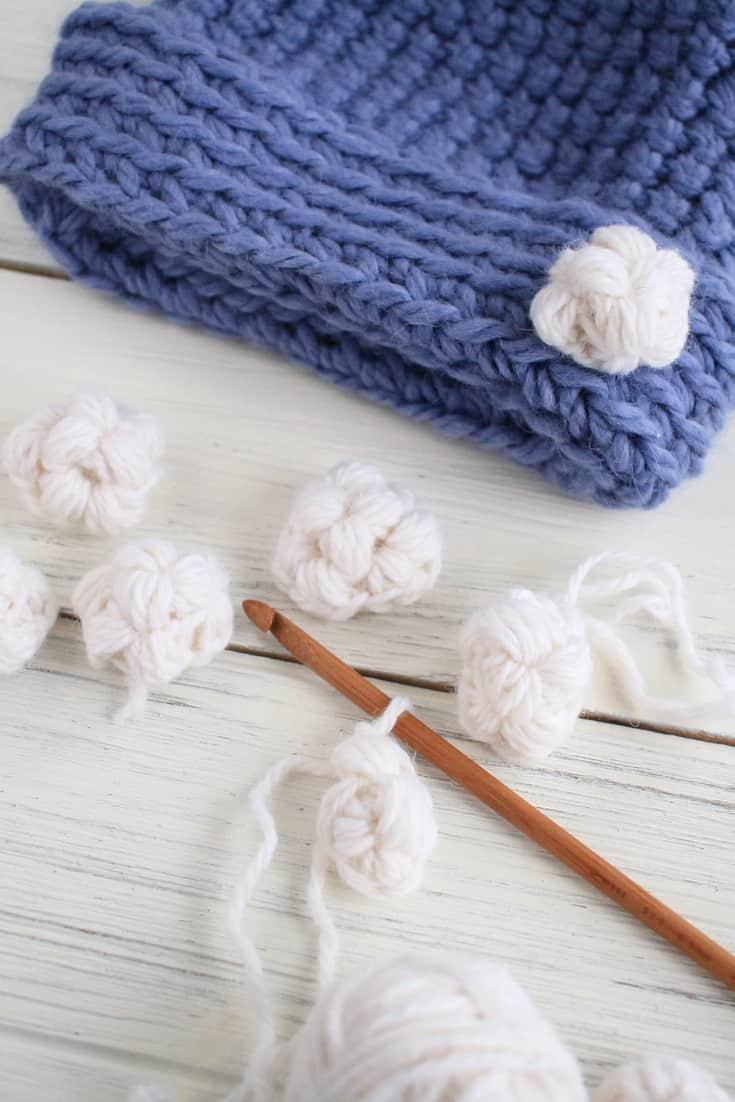 Crochet Snowballs Work In Progress