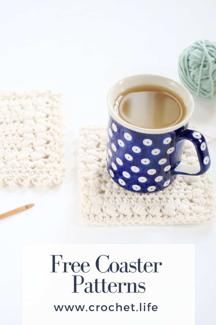 Free Coaster Pattern Easy Sunny Hollow Crochet Project