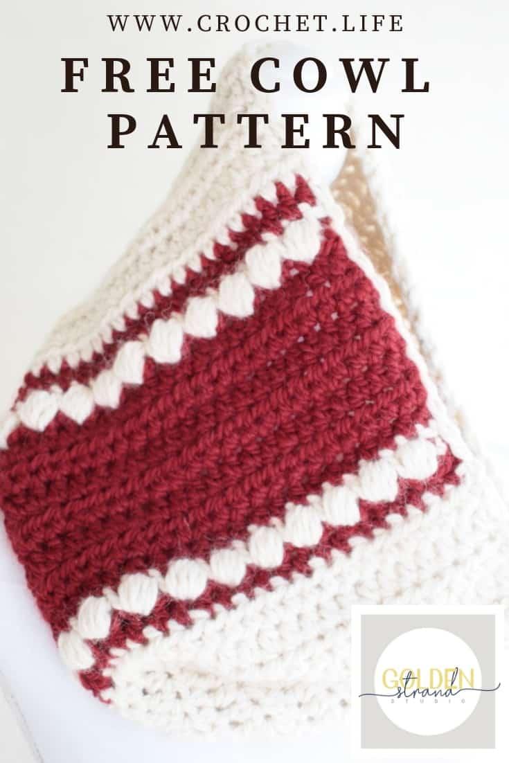 Wandertrail Bulky Cowl Crochet Free Pattern