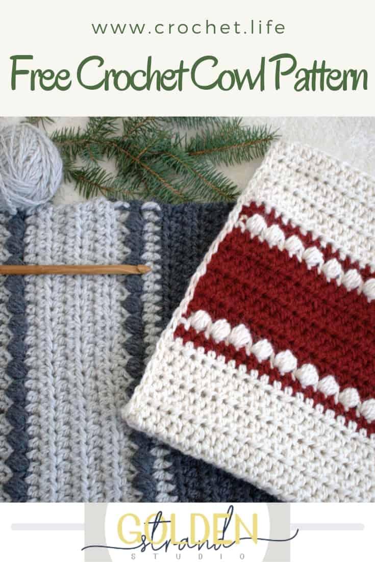 Easy Free Crochet Cowl Pattern