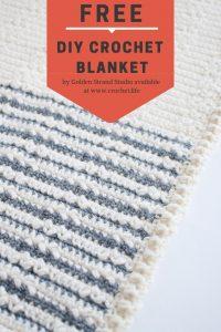 DIY Free Crochet Blanket