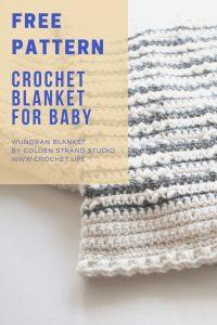 Crochet Blanket For Baby Free Pattern