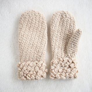 Free Pattern Winter Spun Adult Mittens