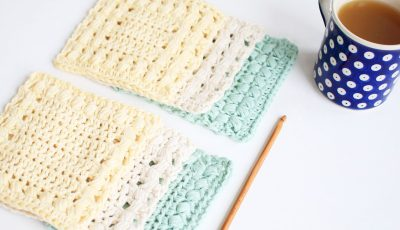 Sunny Hollow Crochet Coasters 2 Designs