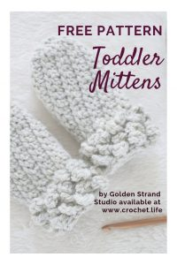 Toddler Mittens with Cuff Free Pattern