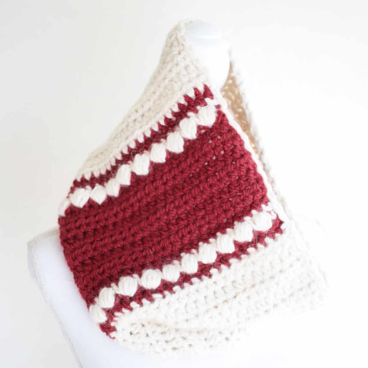 Easy Wandertrail Crochet Cowl Pattern Crochet Life