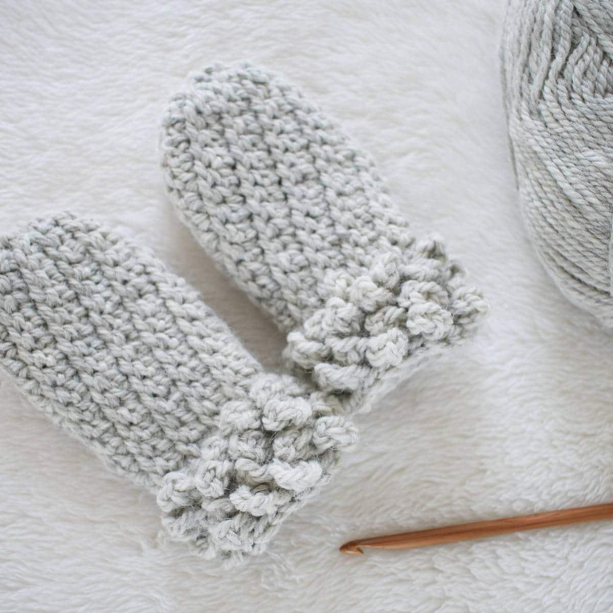 Winter Spun Toddler Mittens