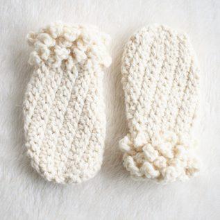 Thumbless Winter Spun Toddler Mittens