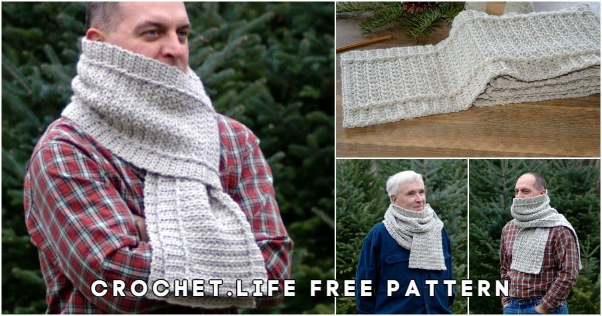 Cozy Free Winter Crochet Scarf Pattern