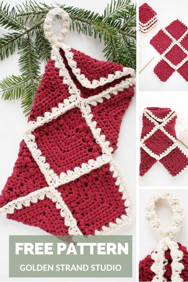 Free Pattern Christmas Stocking