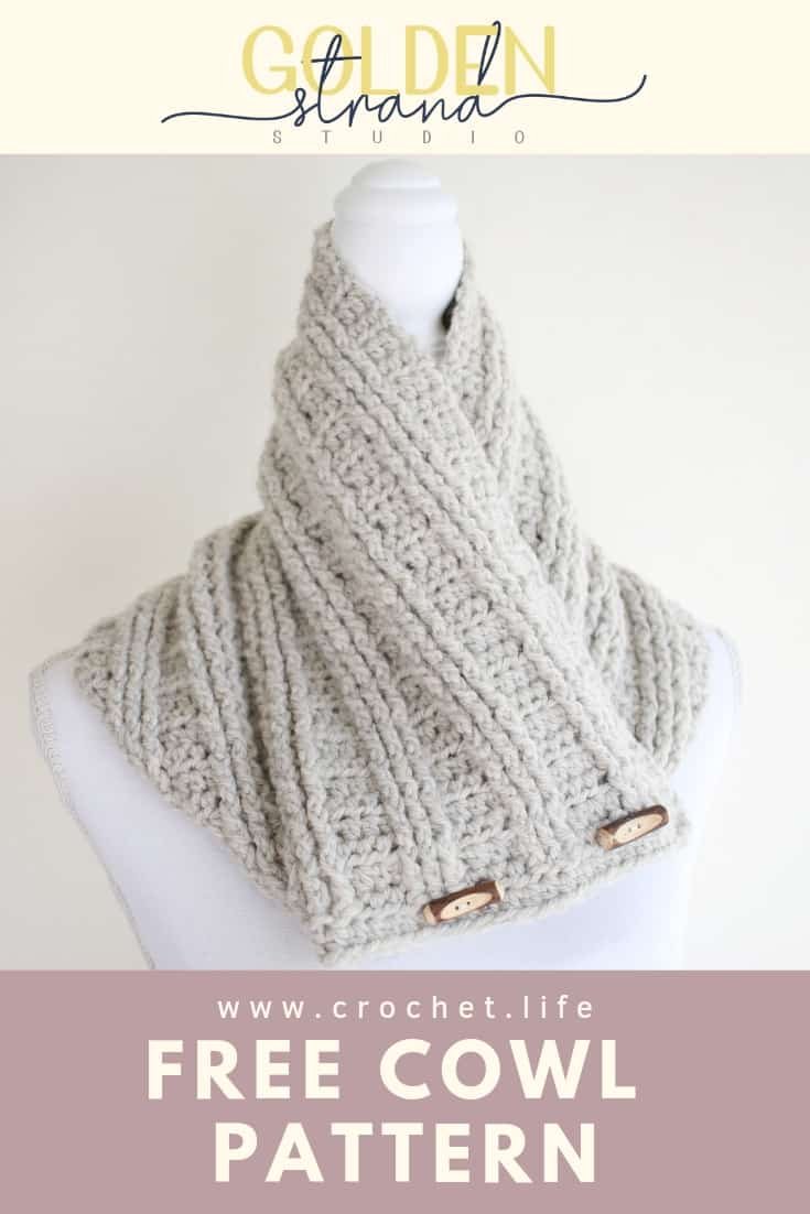 Free Crochet Cowl Easy Pattern Sugar Maple