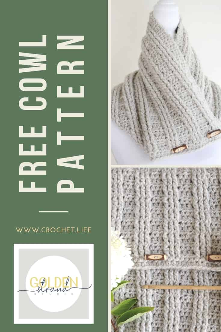 Free Cowl Pattern Sugar Maple