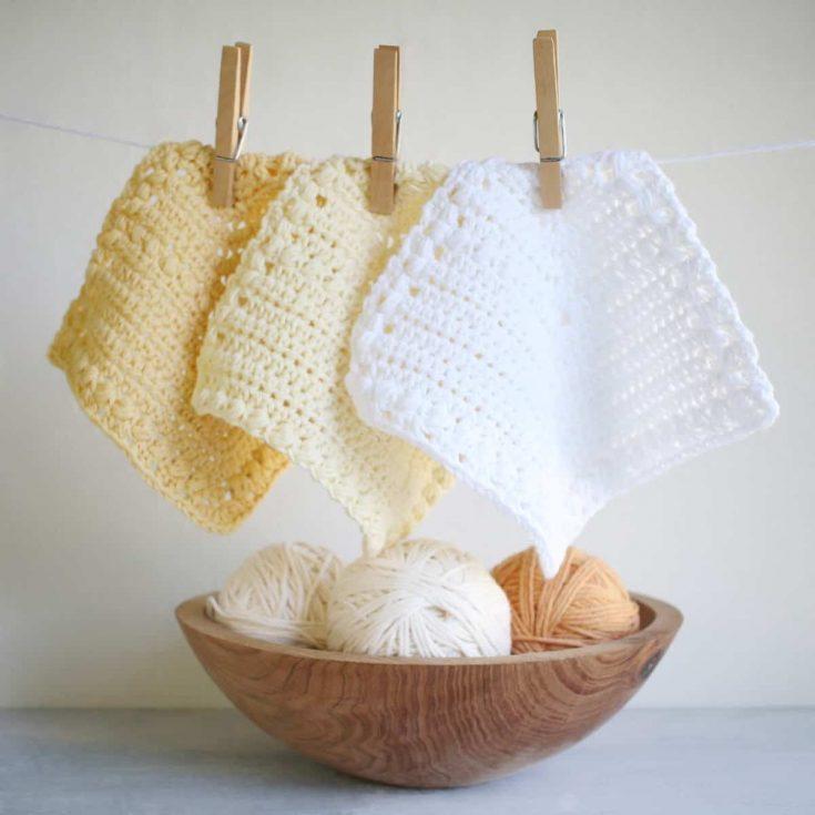 Free Crochet Dishcloths Pattern - or Coasters!