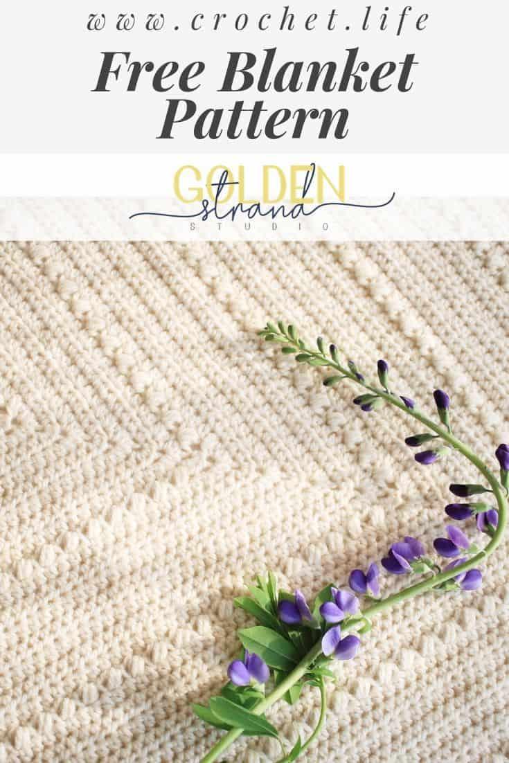 Easy Crochet Baby Blanket Pattern Flutterby