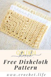 Crochet Dishcloths Easy Pattern