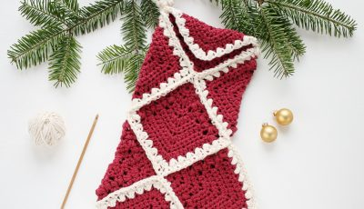 Free Crochet Christmas Stocking