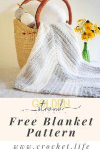 Free Baby Blanket Crochet Pattern Flutterby