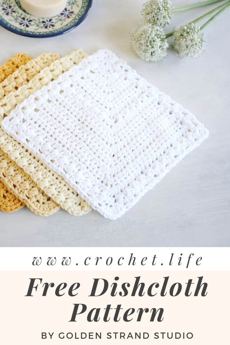 Flutterby Easy Dishcloths Free Crochet Pattern