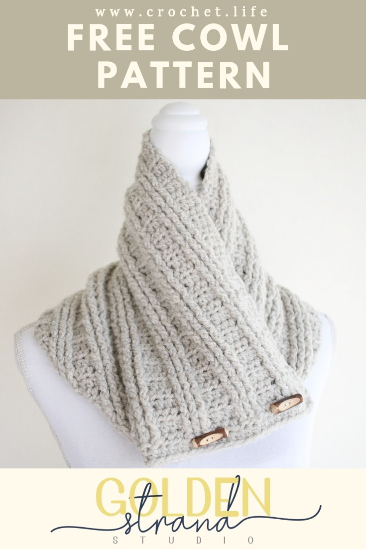 Easy Crochet Sugar Maple Cowl