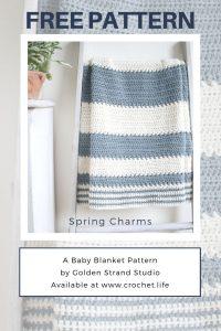 DIY baby shower crochet project