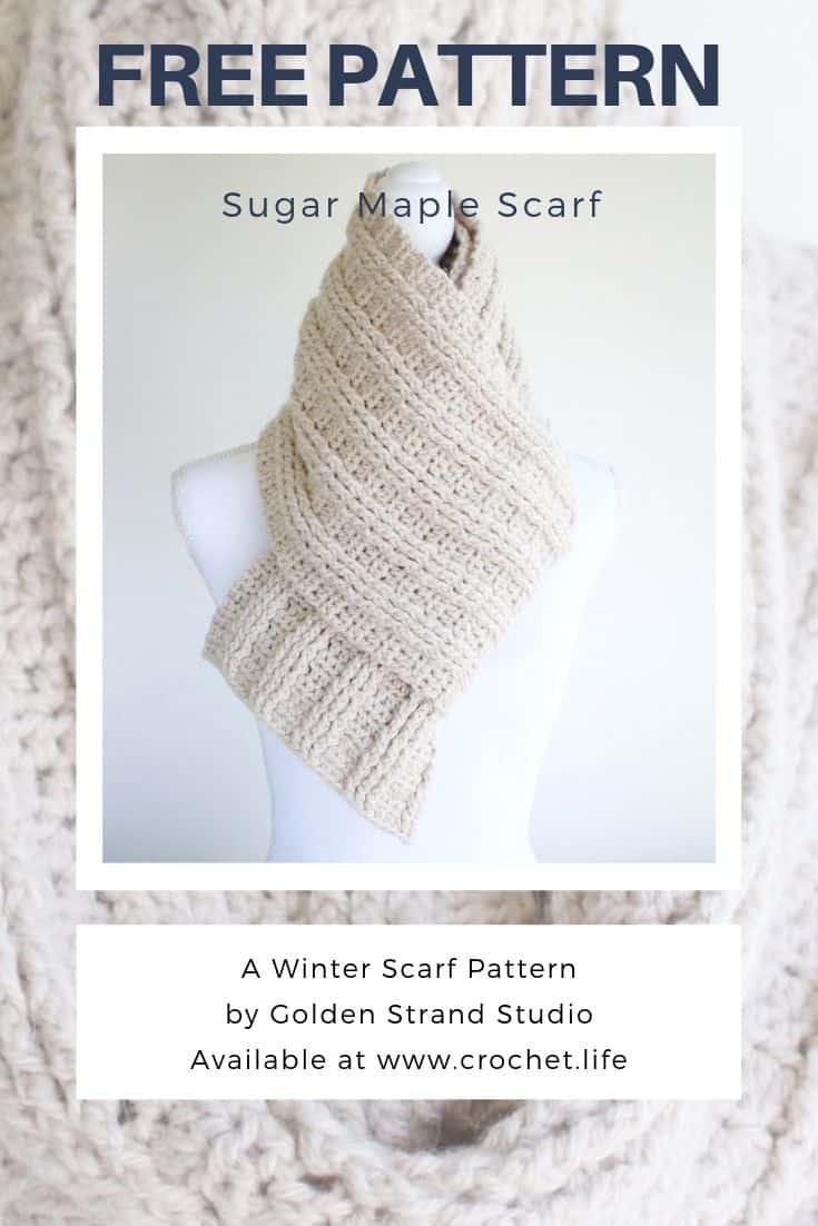 Free Long Winter Scarf Pattern