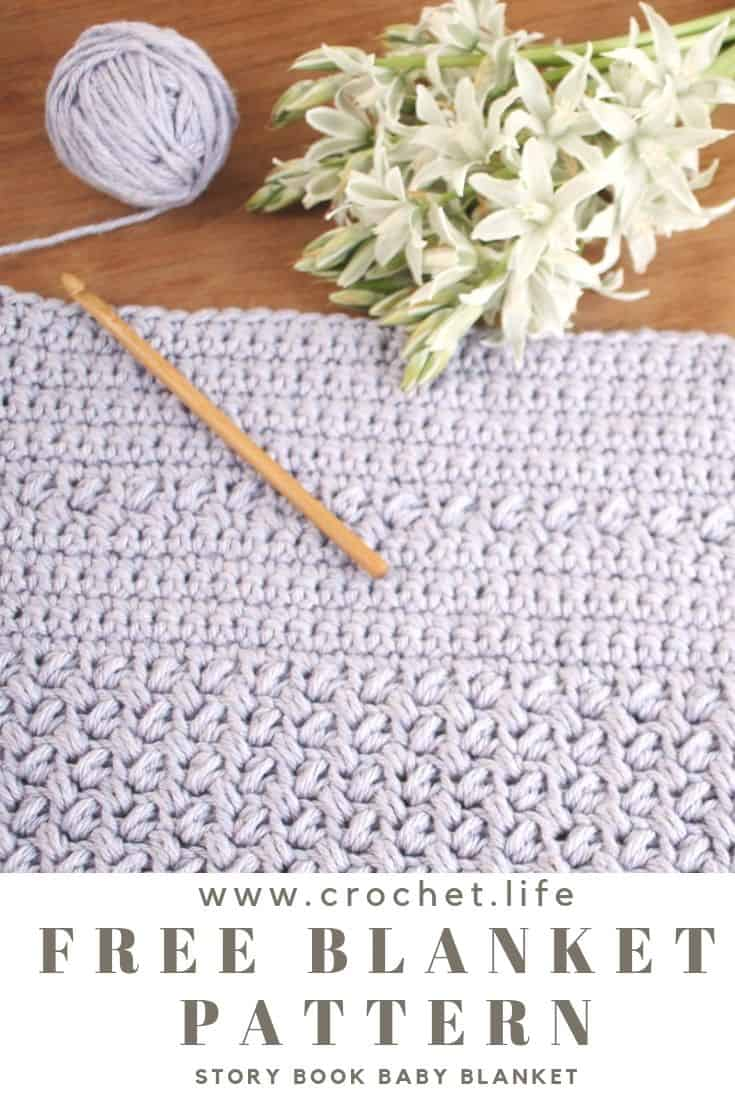 Easy to crochet baby blanket