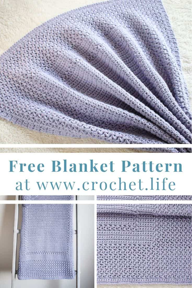 Free crochet baby blanket pattern to spruce up the nursery.
