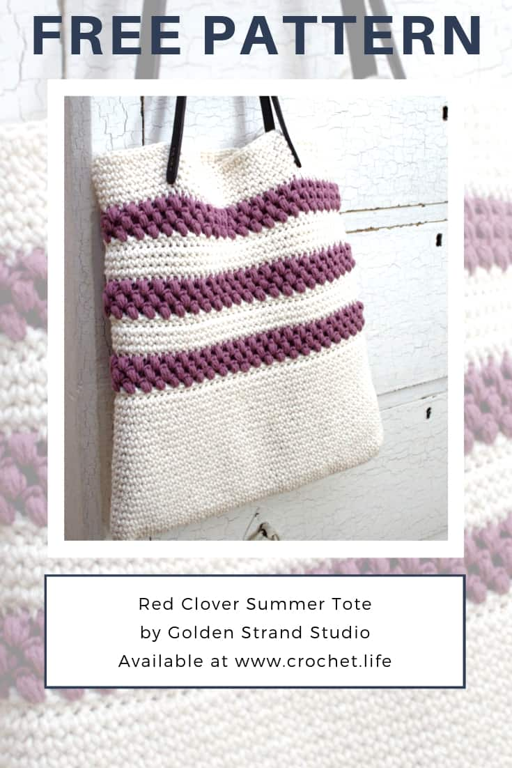 Never Too Late to Crochet A Summer Tote Bag