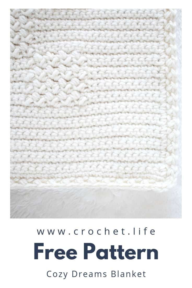 Crochet Blanket Pattern with Fun Stitches To Create Beautiful Texture