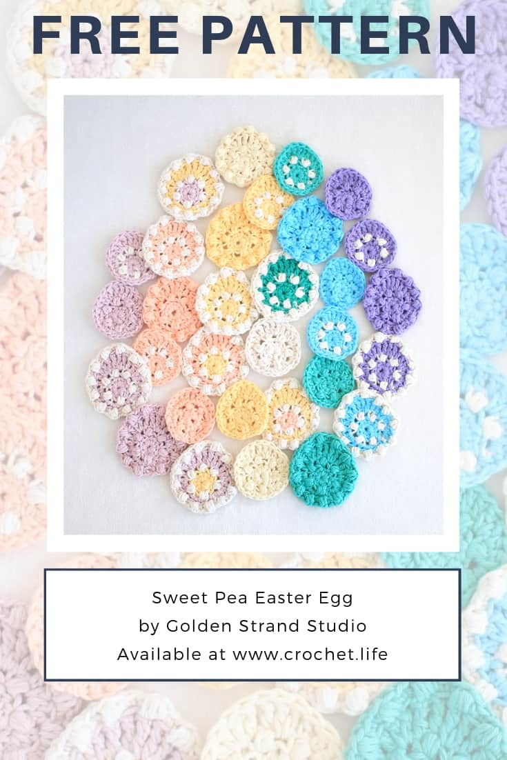 Fun Easter Egg Decorating Idea With the Sweet Pea Crochet Pattern