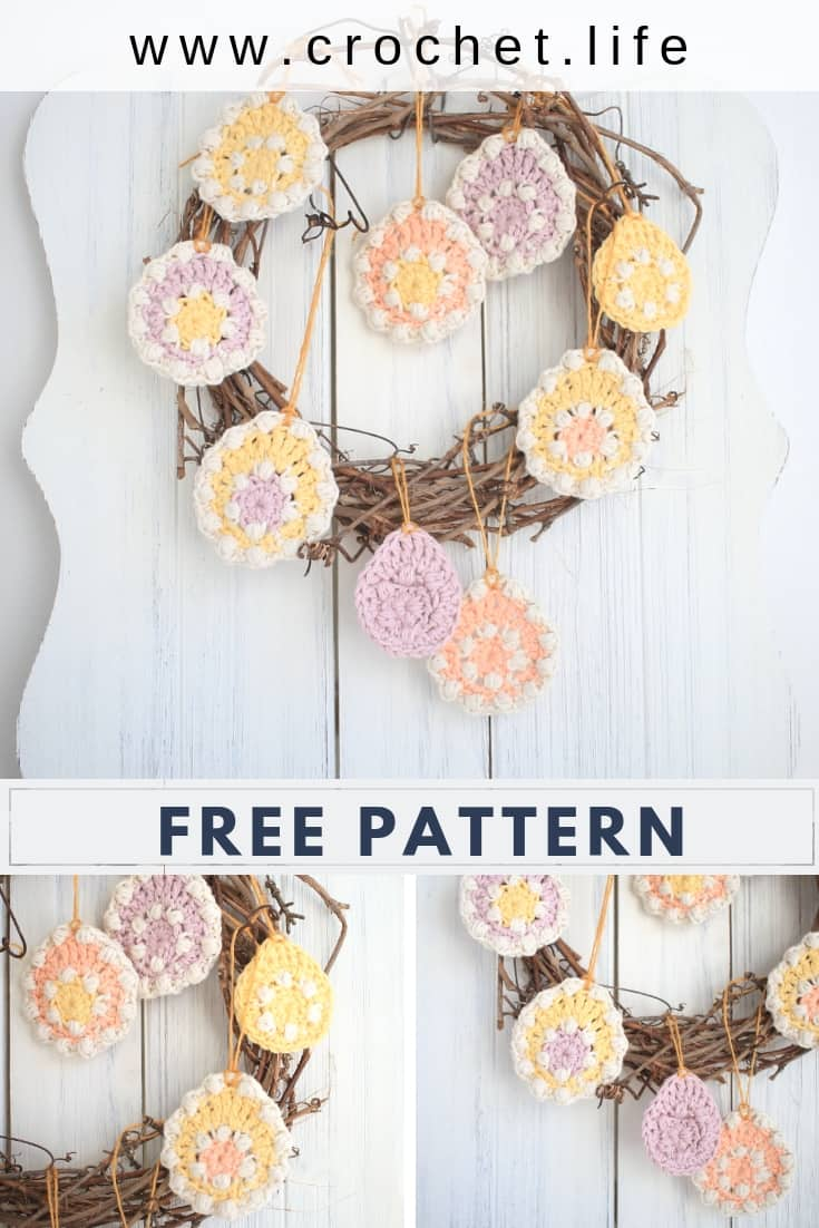 Easy Easter Egg Crochet Pattern for Fun Holiday Decorating