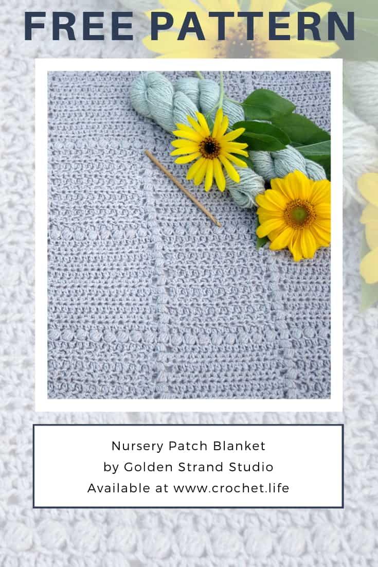 Crochet Blanket Great for DIY Newborn Shower Gift