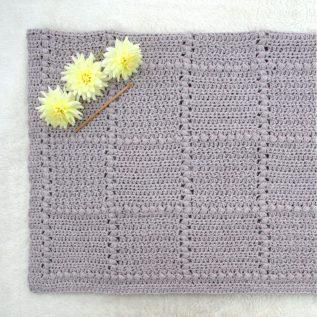 Nursery Patch Crochet Baby Blanket Pattern
