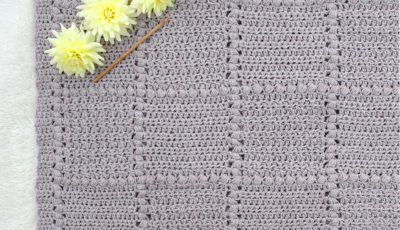 Nursery Patch Crochet Baby Blanket Pattern
