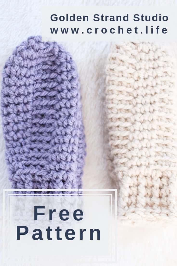 Free Toddler Crochet Mittens Pattern