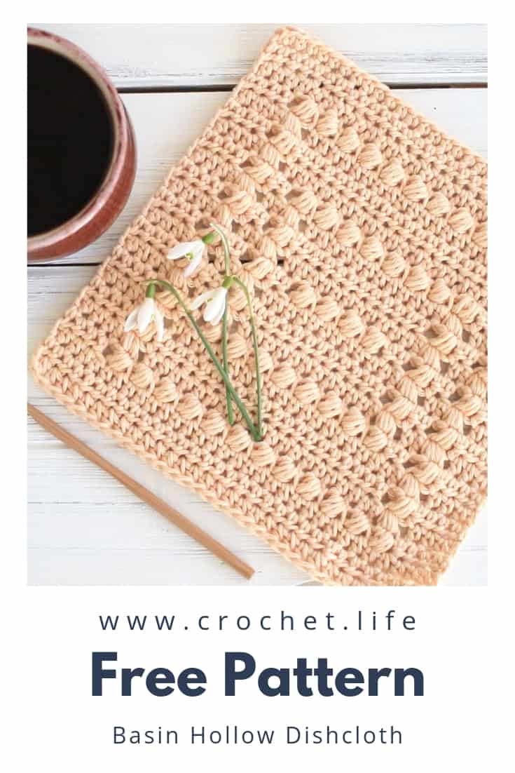 Crochet Dishcloth for any Cleaning Task
