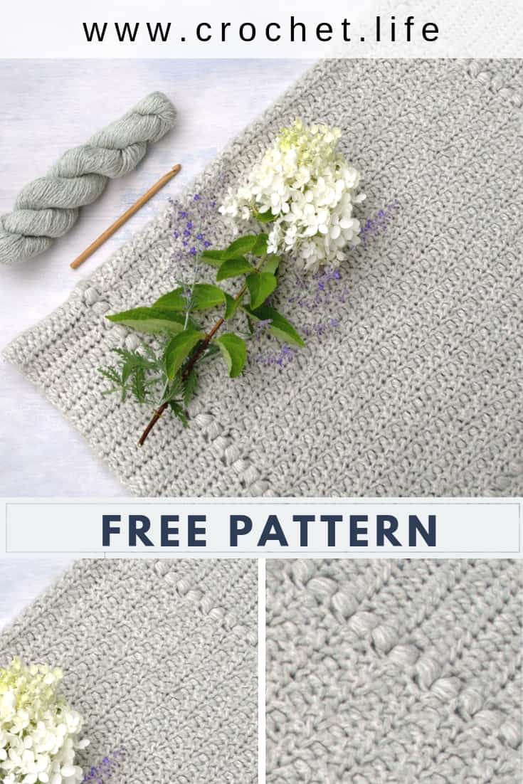 Easy DIY Crochet Blanket Pattern
