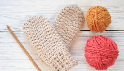 Hill Crest Toddler Mittens Crochet Pattern