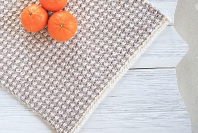 Interlaced Row Placemat Crochet Pattern