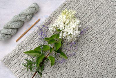 Meadow Sage Crochet Baby Blanket Pattern
