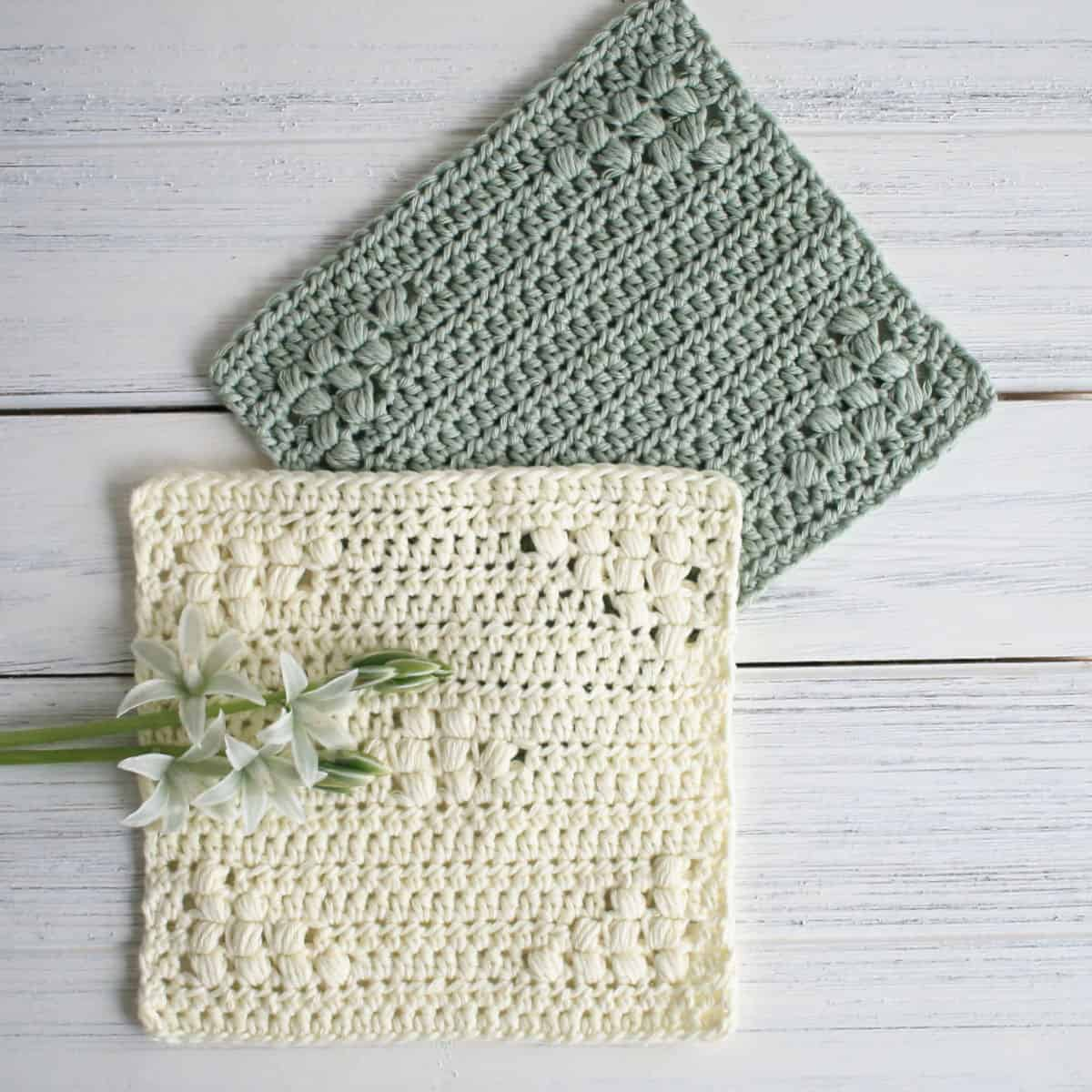 Basin Peak Dishcloth Pattern