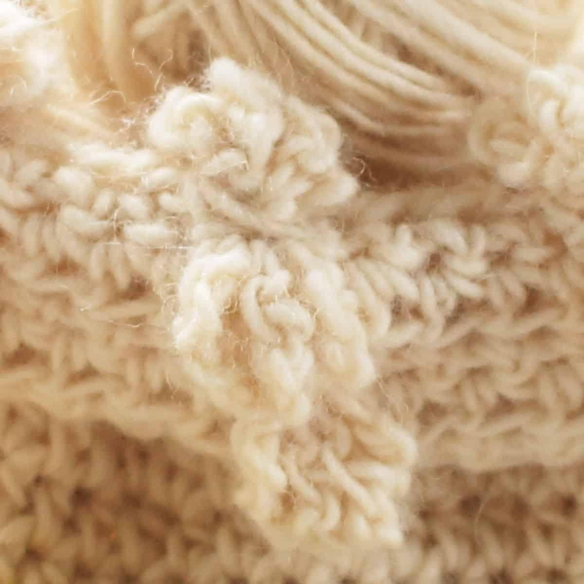 Cluster Stitch Closeup