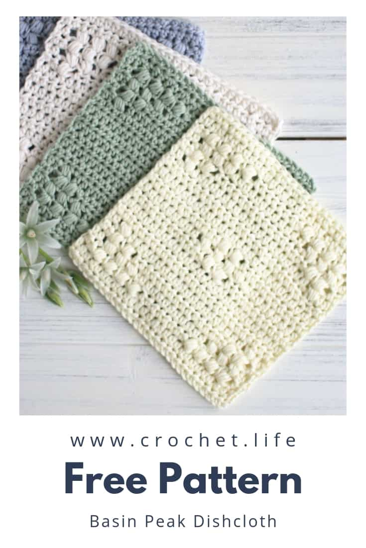 Easy DIY Crochet Dishcloth Projects
