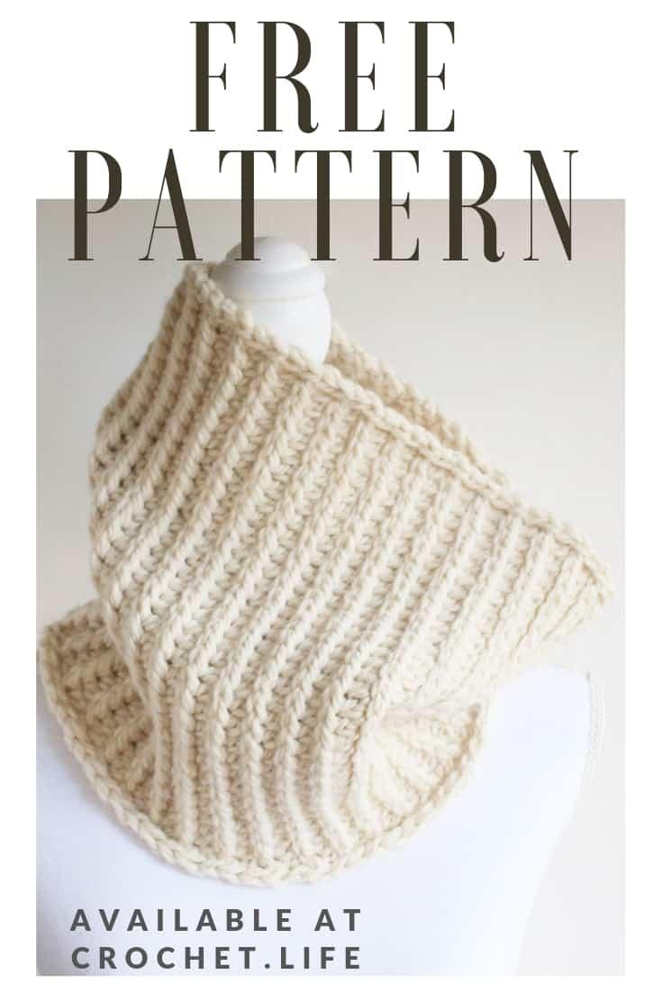 Free Bulky Crochet Cowl Pattern