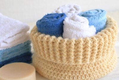 North Cove Crochet Basket Pattern