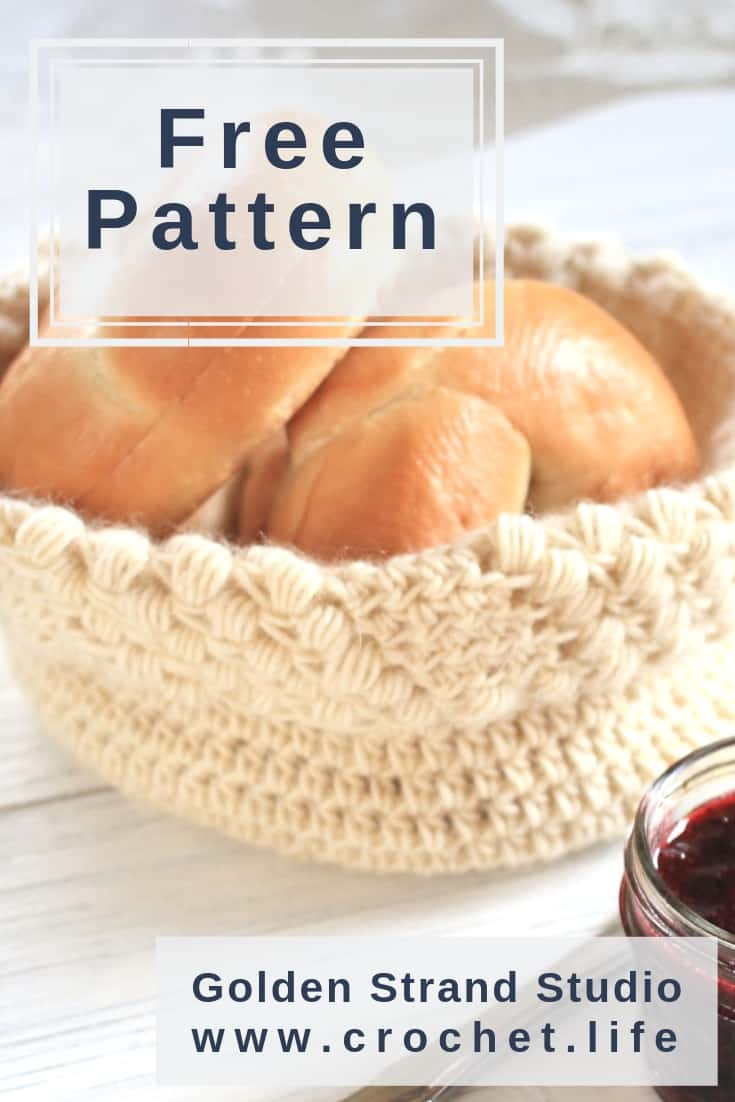 Crochet Basket Pattern - Great Storage Idea