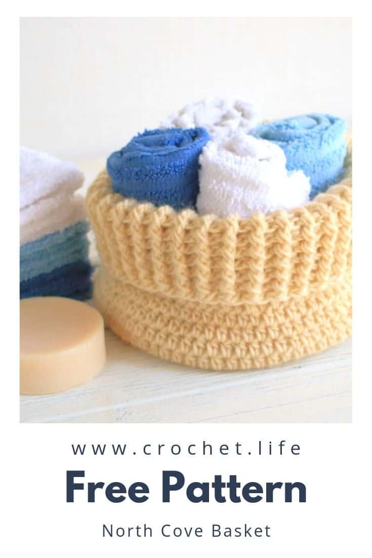 DIY Crochet Basket Pattern Great Storage Idea