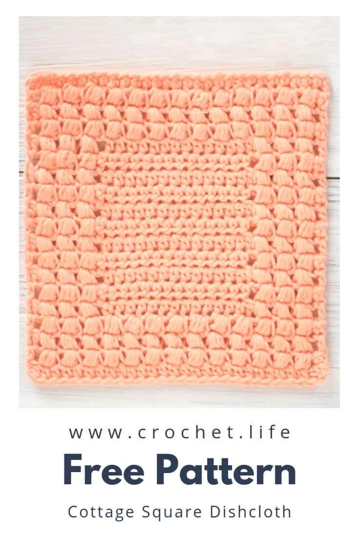 DIY Crochet Dishcloth Pattern